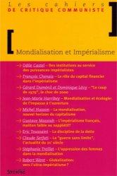 Dernières parutions dans Arguments et mouvements, Les cahiers de critique communiste : Mondialisation et impérialisme