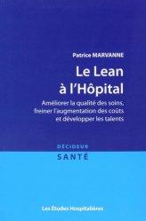 Dernières parutions dans Décideur santé, Le Lean à l'Hôpital