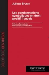 Dernières parutions dans Bibliothèque des thèses, Les condamnations symboliques en droit positif français