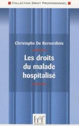 Dernières parutions dans Droit professionnel, Les droits du malade hospitalisé