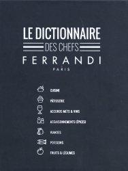 Dernières parutions sur Etudes hôtellerie restauration, Le dictionnaire des chefs Ferrandi Paris