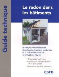 Dernières parutions dans Guide technique, Le radon dans les bâtiments