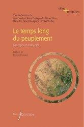 Dernières parutions dans Villes et territoires, Le temps long du peuplement
