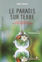 Dernières parutions dans La pensée écologique, Le paradis sur terre