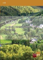 Dernières parutions sur Décentralisation et collectivités territoriales, Le CODT : le code du développement territorial