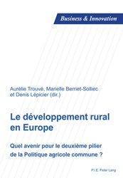 Souvent acheté avec Les financements alternatifs dans le vin Tome 2, le Le développement rural en Europe