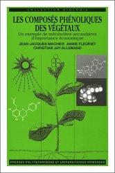 Dernières parutions dans Biologie, Les composés phénoliques des végétaux Un exemple de méabolites secondaires d'importance économique