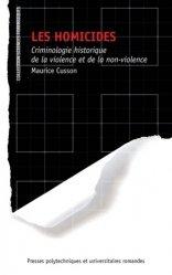 Dernières parutions dans Sciences forensiques, Les homicides