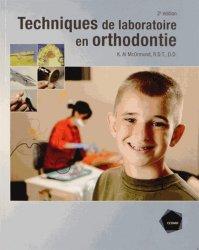Souvent acheté avec Parodonties sévères et orthodontie, le Les techniques de laboratoire en Orthodontie
