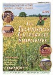 Souvent acheté avec Charte de production des protéagineux, le Les techniques culturales simplifiées Comment?