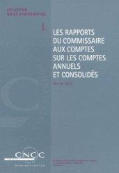 Dernières parutions sur Commissariat aux comptes, Les rapports du commissaire aux comptes sur les comptes annuels et consolidés