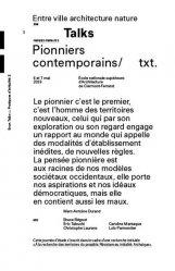 Dernières parutions sur Urbanisme, Les pionniers contemporains