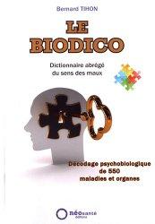 Dernières parutions sur Dictionnaires-encyclopédies, Le biodico