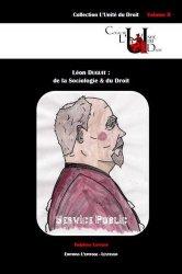 Dernières parutions dans Histoire(s) du Droit, Léon Duguit. De la sociologie et du droit majbook ème édition, majbook 1ère édition, livre ecn major, livre ecn, fiche ecn