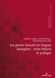 Dernières parutions sur Linguistique, Les genres textuels en langues étrangères : entre théorie et pratique