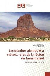 Dernières parutions sur Pétrologie, Les granites albitiques à métaux rares de la région de Tamanrasset