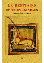 Dernières parutions sur Zoologie, Le bestiaire de Philippe de Thaün
