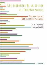 Souvent acheté avec Document unique métier : Exploitant agricole - Agriculteur - Version 2016, le Les essentiels de la gestion de l'entreprise agricole