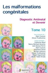 Dernières parutions sur Spécialités médicales, Les malformations congénitales