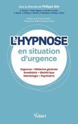 Dernières parutions sur Urgences, L'hypnose en urgence