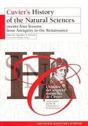 Dernières parutions dans Archives, L'histoire des sciences naturelles de Cuvier