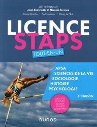 Nouvelle édition Licence STAPS