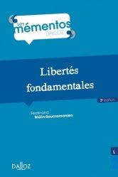 Dernières parutions dans Mémentos Dalloz. Série Droit public, Libertés fondamentales. 3e édition