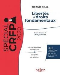 Dernières parutions sur Préparation au CRFPA, Libertés et droits fondamentaux. Maîtrise des connaissances et de la culture juridique, Edition 2020