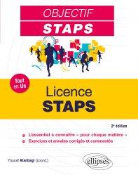 Dernières parutions sur Enseignement du sport, Licence STAPS
