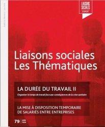 Dernières parutions sur Droit du travail et de l'emploi, Liaisons sociales. Les thématiques, n° 48