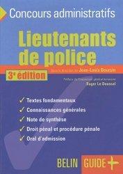 Dernières parutions dans Guide +, Lieutenants de police : le concours. 3e édition