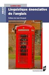 Dernières parutions dans Didact Anglais, Linguistique énonciative de l'anglais