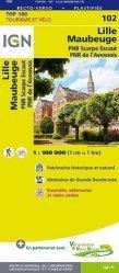 Dernières parutions sur Nord-Pas-de-Calais, Lille Maubeuge. 1/100 000