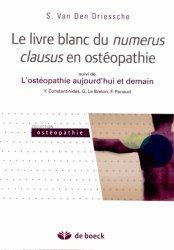 Dernières parutions dans Ostéopathie, Livre blanc du numérus clausus en ostéopathie