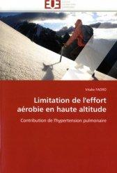Dernières parutions sur Médecine du sport, Limitation de l'effort aérobie en haute altitude. Contribution de l'hypertension pulmonaire