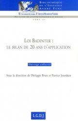 Dernières parutions dans Bibliothèque Institut Tunc, Loi Badinter : le bilan de 20 ans d'application