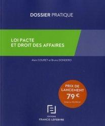 Dernières parutions dans Dossier pratique, Loi pacte et droit des affaires