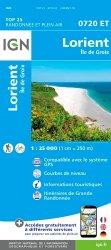Nouvelle édition Lorient Ile de Groix. 1/25 000, 5e édition