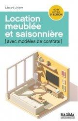 Dernières parutions sur Logement guides pratiques, Location meublée et saisonnière. 5e édition
