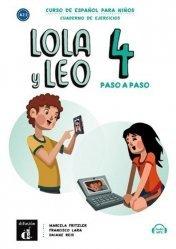 Dernières parutions sur Jeux, Lola y leo paso a paso 4 - cahier d'activités
