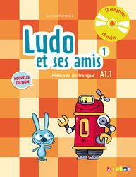 Dernières parutions dans Ludo et ses amis - Edition 2015, Ludo et ses Amis 1 A1.1 (éd. 2015) : Livre et CD Audio