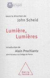 Dernières parutions dans Travaux du Collège de France, Lumières, lumières