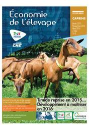 Dernières parutions dans Economie de l'élevage, 2015 : l'année économique caprine. Perspectives 2016