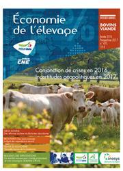 Dernières parutions sur Elevage bovin, 2016 : l'année économique viande bovine. Perspectives 2017