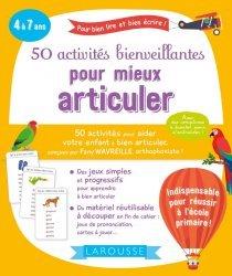 Souvent acheté avec Ma maternelle avec Montessori, le 50 activités bienveillantes pour mieux articuler