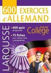 Dernières parutions sur Méthodes de langue (scolaire), 600 exercices d'allemand