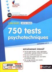 Dernières parutions dans Intégrer la fonction publique, 750 tests psychotechniques. Concours catégories B et C, Edition 2019-2020