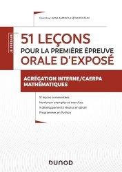 Dernières parutions dans Je prépare, 51 leçons pour la première épreuve oprale d'exposé
