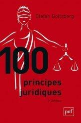 Nouvelle édition 100 principes juridiques