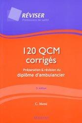 Souvent acheté avec Guide d'intervention du sauveteur, le 120 QCM corrigés